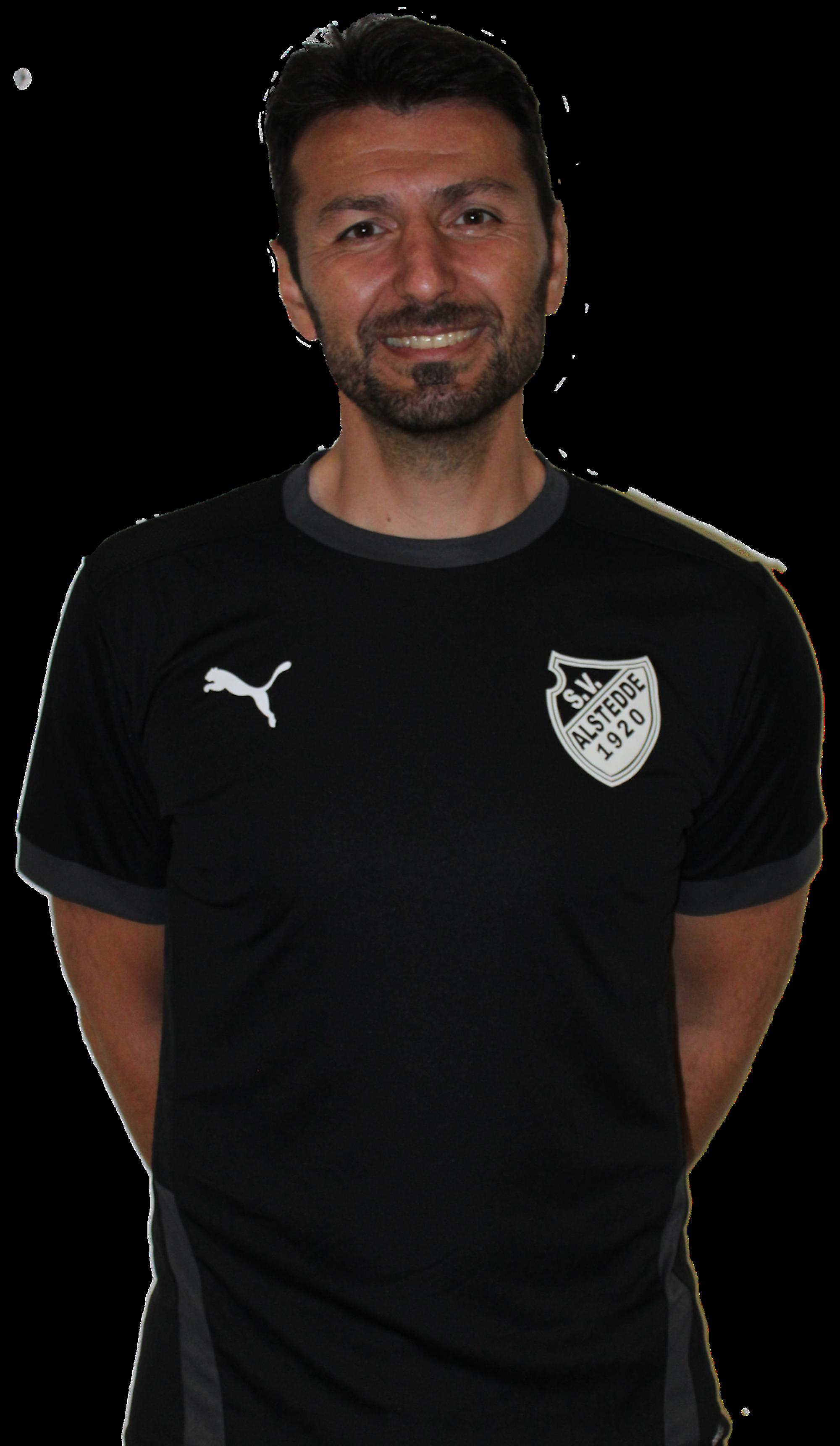Trainer Fatih Bas